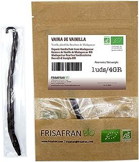 FRISAFRAN - Vaina de vainilla de Madagascar ecologica (1 Unidad)