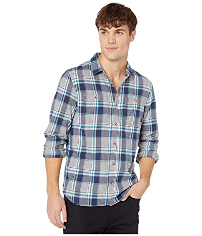 Vans Banfield III Flannel Shirt (Frost Grey) Men