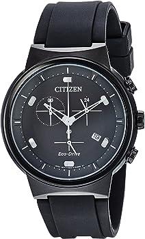 Citizen Paradex Eco-Drive Chronograph Black Dial Men's Watch