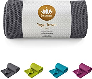 Lotuscrafts Toalla Yoga Antideslizante Grip - Antideslizante