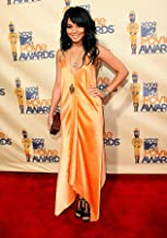 Vanessa Hudgens in Silk Beige Sexy Dress Full at Event Photo (8 inch by 10 inch) PHOTOGRAPH TL
