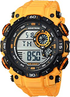 Armitron Sport Men's 40/8397YLW Digital Chronograph Strap Watch