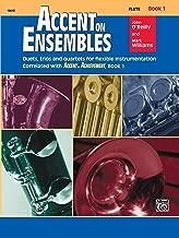 Accent on Ensembles, Bk 1: Flute (Accent on Achievement)