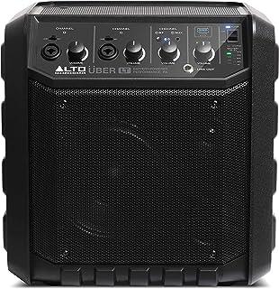 ALTO Professional UBER LT - Sistema de PA portátil, inalámbrico, Bluetooth, muy ligero, potencia 50 W, batería recargable, entradas de línea y XLR, para músicos, artistas callejeros, clases musicales