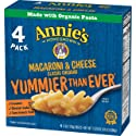 Annie's Classic Mild Cheddar Macaroni & Cheese, 4 count-6 oz boxes