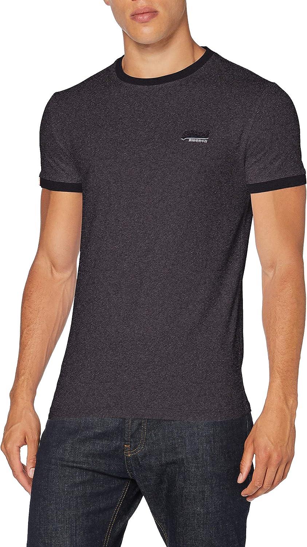 Superdry Herren Ol Ringer Tee T-Shirt