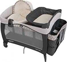 Graco Pack 'n Play Playard | Includes Elite Newborn Napper, Full-Size Infant Bassinet, and Diaper Changer, Vance