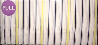 Nautica Winthrop Stripe, Yellow Navy Full Sheet Set
