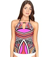 Kenneth Cole - Without Borders High Neck Keyhole Tankini