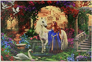Jigsaw Puzzles for Adults 1000 Piece - Secret Flower Garden Intellectual Game for Adults and Kids