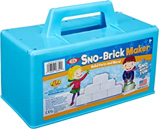 Ideal Sno-Brick Maker, Colors May Vary Kids Outdoor Snow Activity