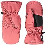 Jack Wolfskin Kinder Easy Entry Fäustlinge, Coral pink, 116