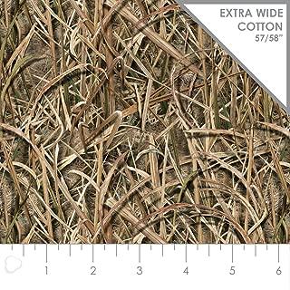 Mossy Oak 58 Inch Wide Shadowgrass Blades Cotton Fabric