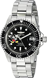 Invicta Men's Automatic-self-Wind Watch with Stainless-Steel Strap, Silver, 20 (Model: 24753)