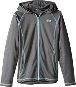 Tech Glacier Full Zip Hoodie (Little Kids/Big Kids)