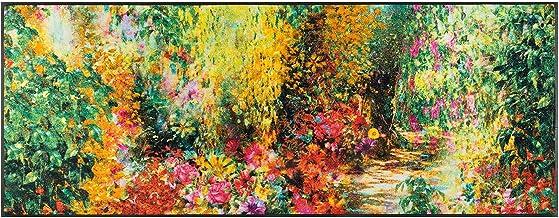 Wash&Dry Doormat, Acrylic Colourful, 75 x 190 x 0.7 cm
