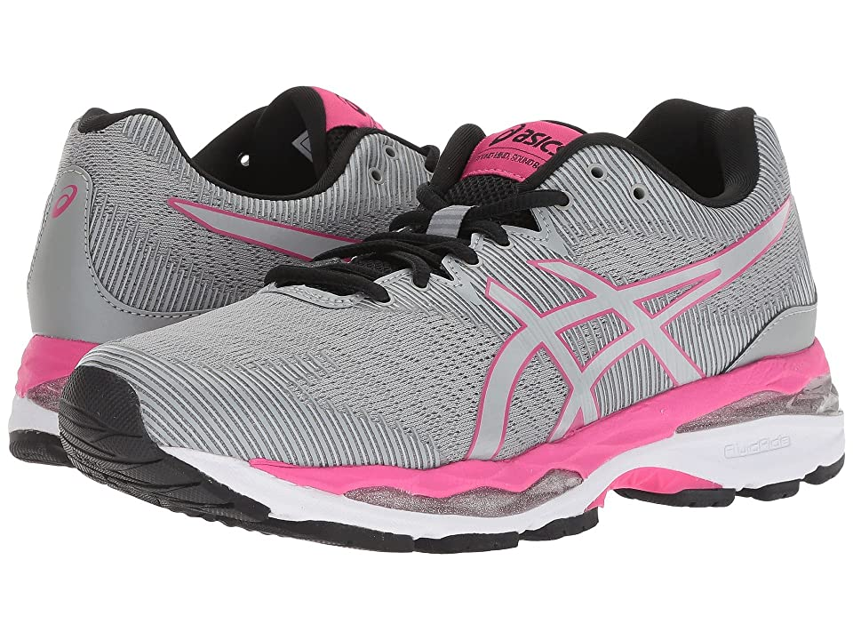 ASICS GEL-Ziruss 2 (Mid Grey/Mid Grey) Women's Running Shoes, Gray