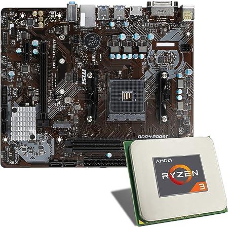 Amd Ryzen 3 3100 Msi A320m A Pro Max Mainboard Bundle Elektronik
