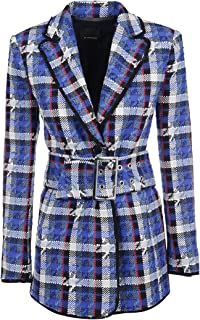 Pinko Luxury Fashion Womens 1G14AK7641EE3 Blue Blazer | Fall Winter 19