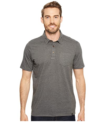 Prana prAna(r) Polo (Charcoal Heather) Men
