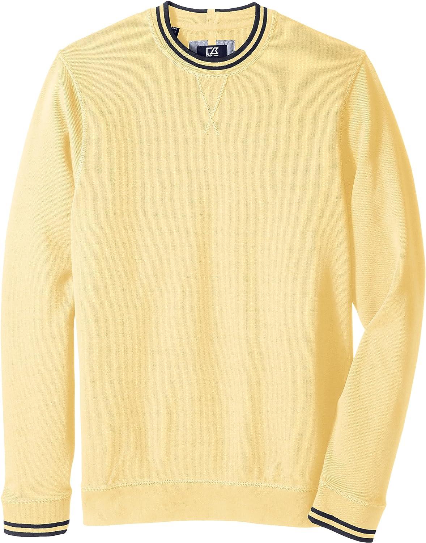 Cutter & Buck Men's Big-Tall Heritage Crew Neck Sweatshirt