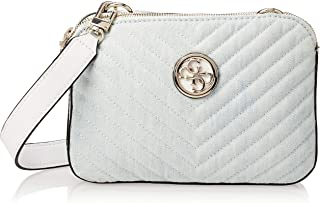 Guess Womens Cross-Body Handbag, Denim - DG766314