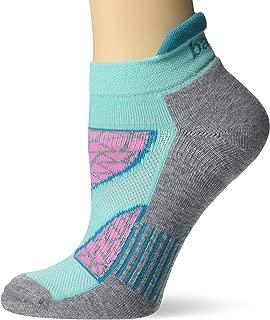 Balega Women's Enduro V-Tech No Show Socks (1 Pair), Light Aqua, Small