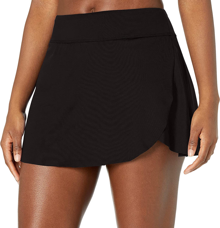 24th & Ocean Women's Petal Skort Bikini Swimsuit Bottom