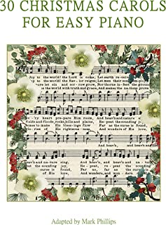 30 Christmas Carols for Easy Piano