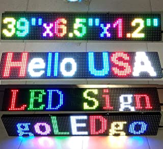 Best programmable led sign for cars Reviews