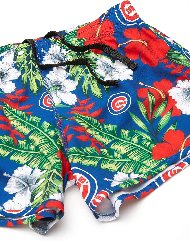 FOCO MLB Womens Floral Running Shorts