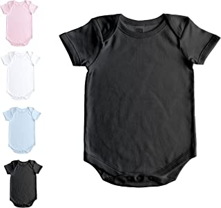Short Sleeve Onesie for Babies and Toddlers - Premium Soft Cotton Bodysuit for Boys and Girls
