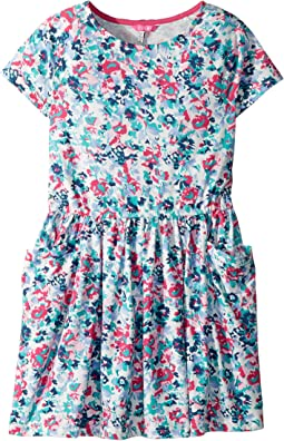 Joules Kids - Printed Jersey Dress (Toddler/Little Kids/Big Kids)