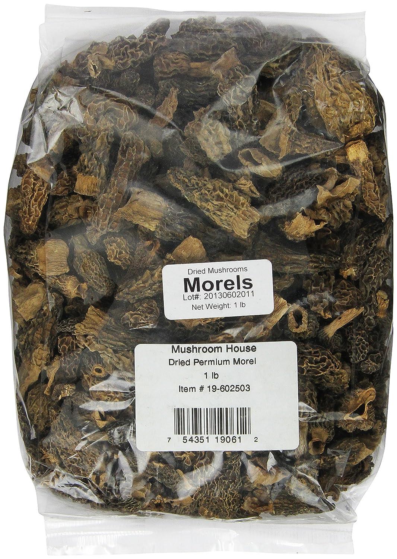 Mushroom House Dried Mushrooms Max 62% OFF Pound 1 Chicago Mall Morel Premium