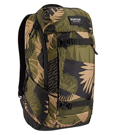 Burton Kilo 2.0 Backpack (Martini Olive Woodcut Palm) Backpack Bags