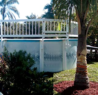 SmartPool Above Ground Pool Safety Gate, Large, White