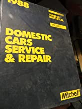 Mitchell Manual 1988: Domestic Cars, Service and Repair: Tune-Up and Electrical: Volume 1 (1)