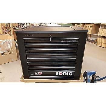 Werkstattwagen S11 gefüllt 644-tlg. schwarz Werkzeugwagen SONIC 764411
