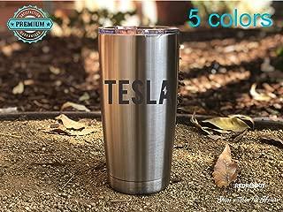Tesla 20 oz Insulated Tumbler, Electric