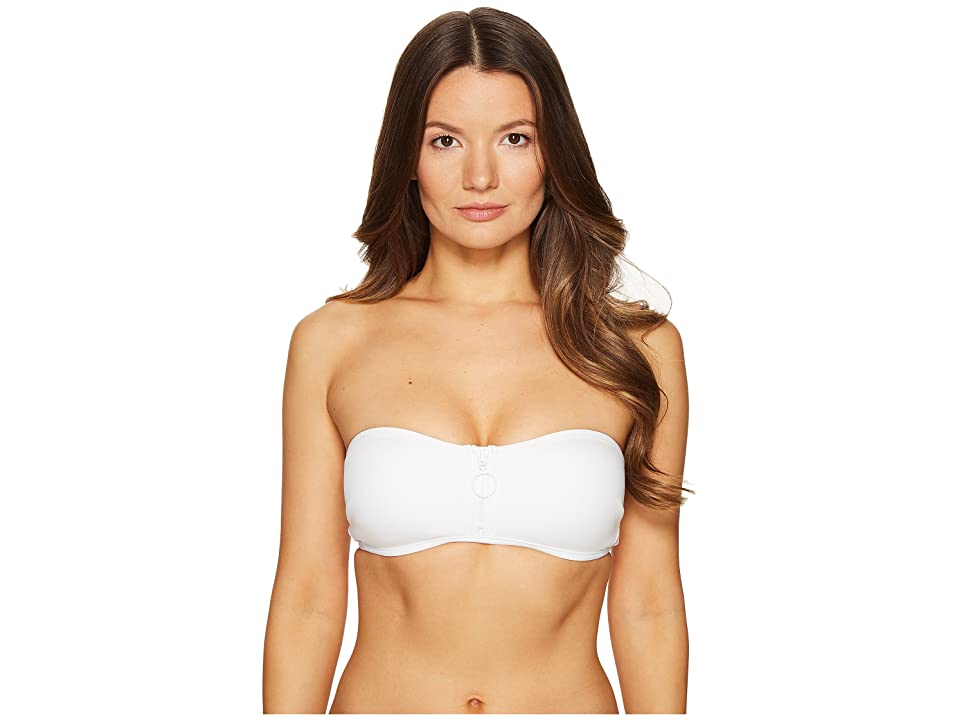 Stella McCartney Neoprene Mesh Bandeau (White) Women