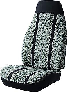 Fia TR48-16 BLACK Custom Fit Front Seat Cover Split Seat 40/20/40 - Saddle Blanket, (Black)