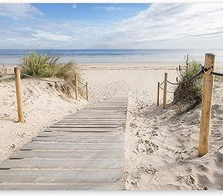 Strand Bild Meer Kunstdruck auf  Leinwand Nordsee Poster XXL 100 cm*65 cm 626