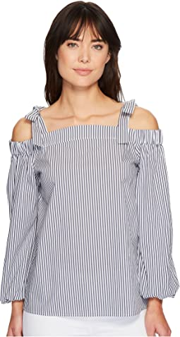 MICHAEL Michael Kors - Off Shoulder Long Sleeve Top
