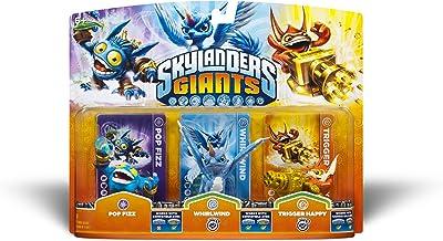 Skylanders Giants Triple Pack 1 - Pop Fizz / Whirlwind (S2) / Trigger Happy (S2)