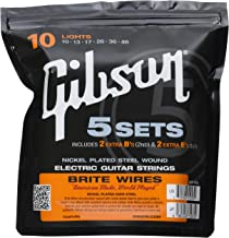 Gibson Gear SVP-700L Brite Wires 5 Set Electric Guitar Strings.10-.046