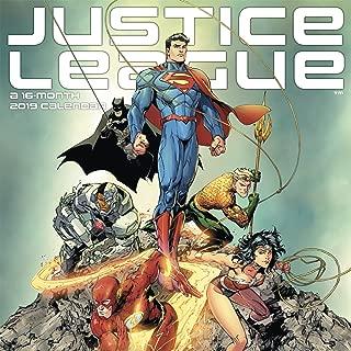 2019 The Justice League (Classic) Wall Calendar