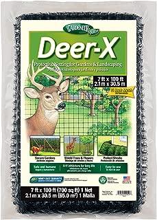Gardeneer By Dalen DX-7 Deer-X Protective Netting 7' x 100', Black - 100055880