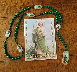 La Novena de San Judas Tadeo y Rosario de Madera