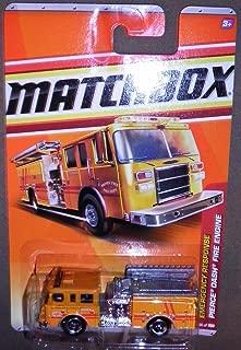 Matchbox 2010, Pierce Dash Fire truck 56/100, Emergency Response. 1:64 Scale.