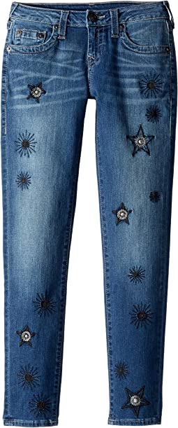 True Religion Kids - Casey Skinny Jeans in Star Wash (Big Kids)